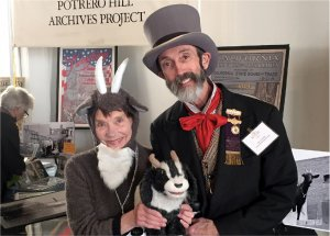 The Potrero Hill Archives Project's Abby Johnston and Peter Linenthal
