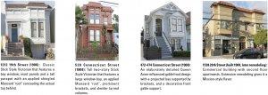 Images of Potrero Hill architecture: 1900
