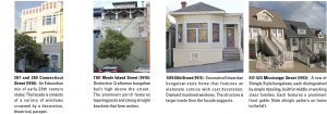 Images of Potrero Hill architecture: 1910 to 1912