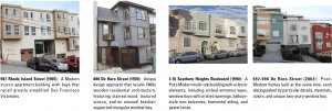 Images of Potrero Hill architecture: 1965 to 2002