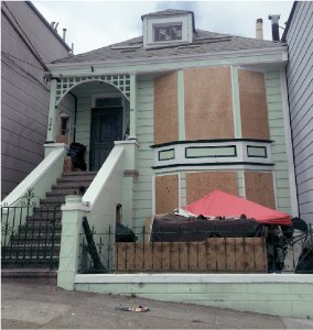 A photo of 584/586 Vermont Street.