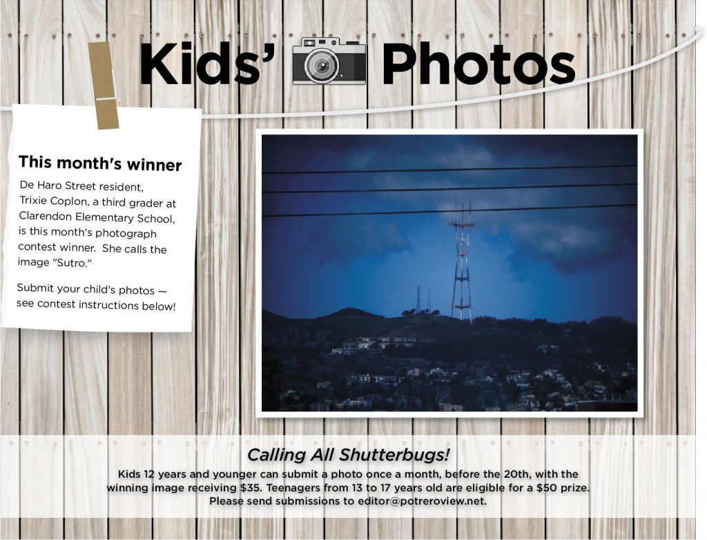 Photo of the View's Kids' Photo Contest Winner for June.