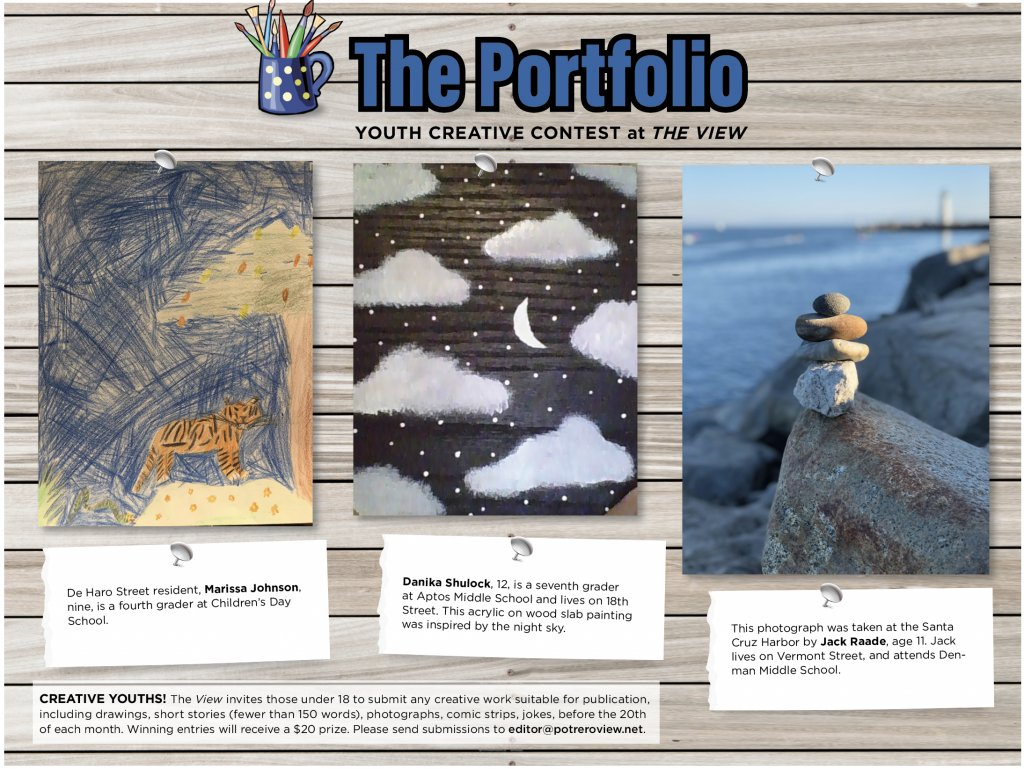 The Portfolio: Potrero View's Creative Contest for Youths