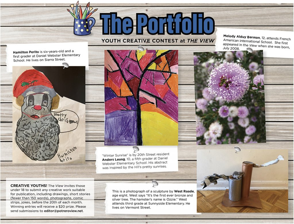 The Portolio: Potrero View Youth Creative Contest Winners, January 2021