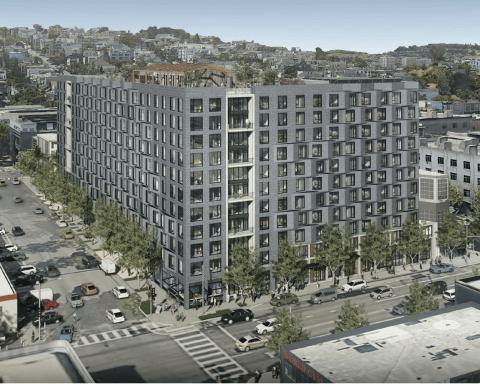Photo of proposed development at 300 De Haro Street.